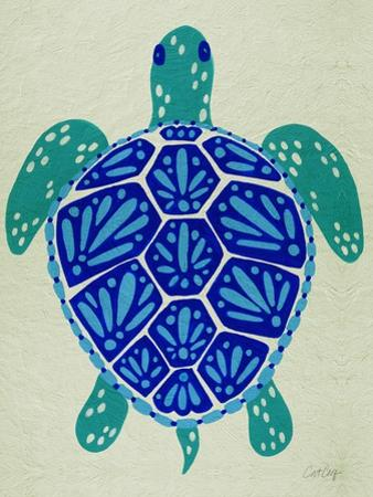 Sea Turtle in Blue– Cat Coquillette by Cat Coquillette