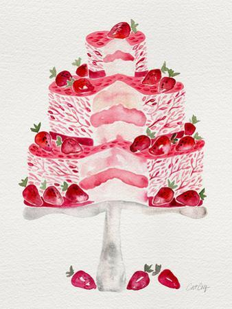 Strawberry Short Cake by Cat Coquillette
