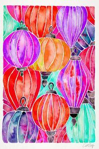 Tertiary Lanterns by Cat Coquillette