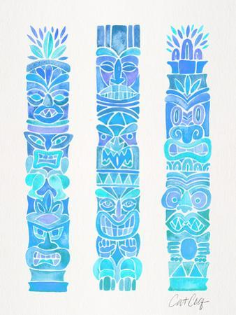 Tiki Totems by Cat Coquillette