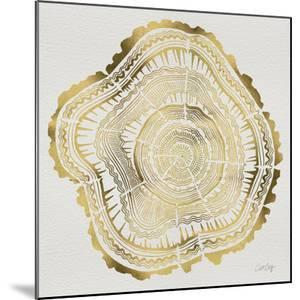 Tree Rings in Gold by Cat Coquillette