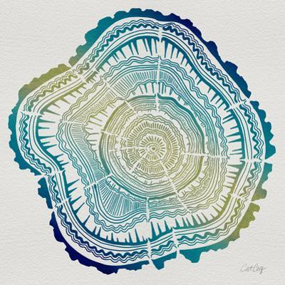 Tree Rings in Ombre by Cat Coquillette
