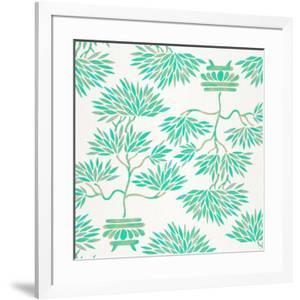 Turquoise Bonsai Pattern by Cat Coquillette
