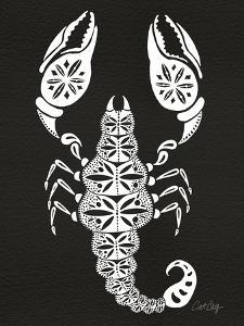 White Scorpion by Cat Coquillette