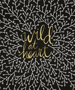 Wild at Heart - Black and Gold Palette by Cat Coquillette