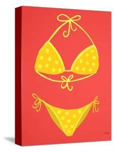 Yellow Bikini Coral by Cat Coquillette