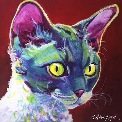 Cat - Devon Rex-Dawgart-Giclee Print