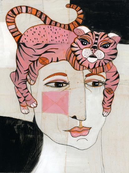 Cat Hair-Stacy Milrany-Art Print