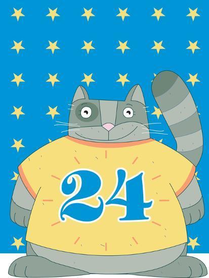 Cat in No 24-Artistan-Photographic Print