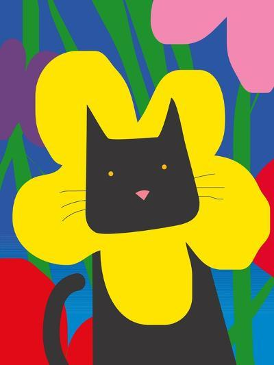 Cat Look 1-Artistan-Art Print