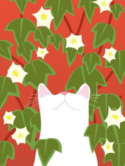 Cat Look 5-Artistan-Art Print