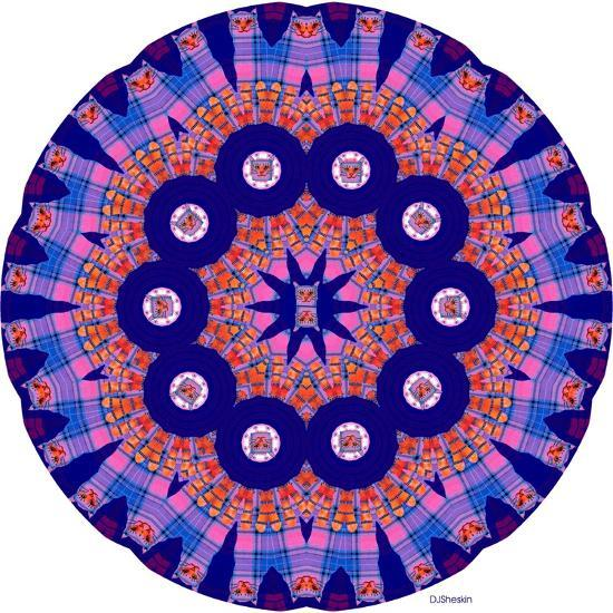 Cat Mandala X-David Sheskin-Giclee Print