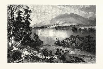 Cat Mountain, Lake George Usa--Giclee Print