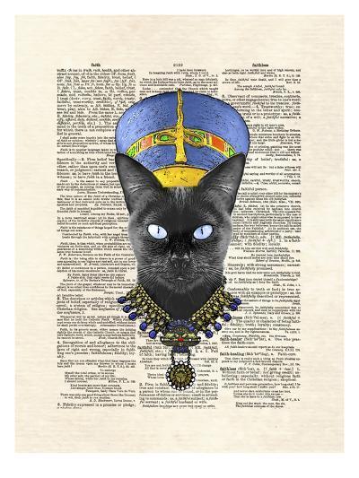 Cat Nefertiti-Matt Dinniman-Art Print
