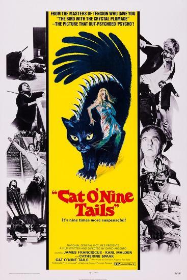 Cat O' Nine Tails, (Aka Il Gatto a Nove Code)--Art Print