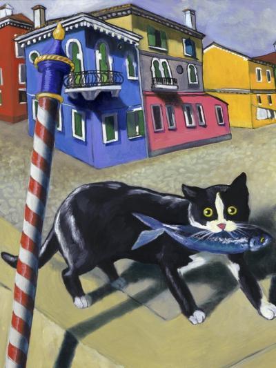 Cat of Burano (Chat de Burano)-Isy Ochoa-Giclee Print