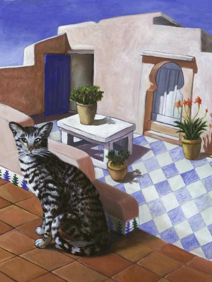 Cat of Morocco (Chat Du Maroc)-Isy Ochoa-Giclee Print