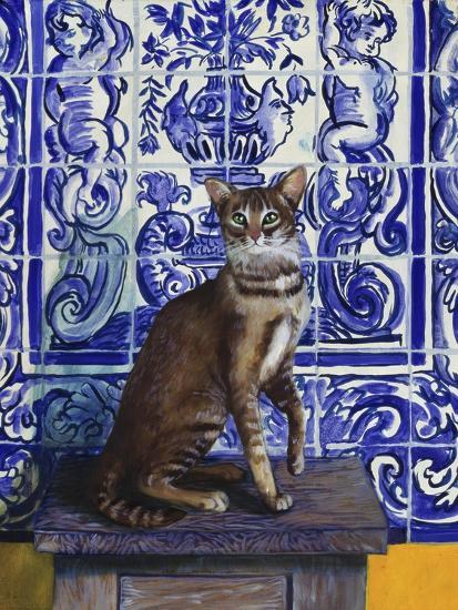 Cat of Portugal (Chat Du Portugal)-Isy Ochoa-Giclee Print