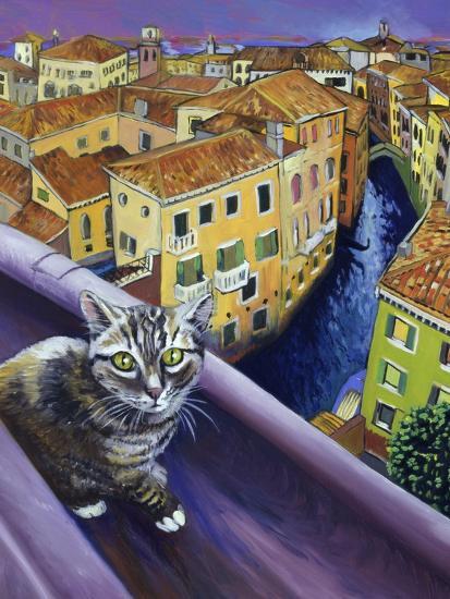Cat of Venice (Chat de Venise)-Isy Ochoa-Giclee Print