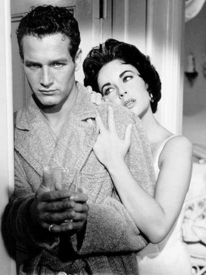 Cat on a Hot Tin Roof, Paul Newman, Elizabeth Taylor, 1958--Photo