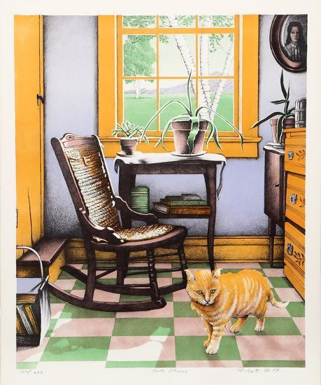 Cat Paws-R. Grote-Collectable Print