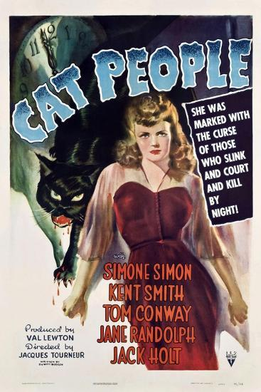 Cat People, 1942, Directed by Jacques Tourneur--Giclee Print