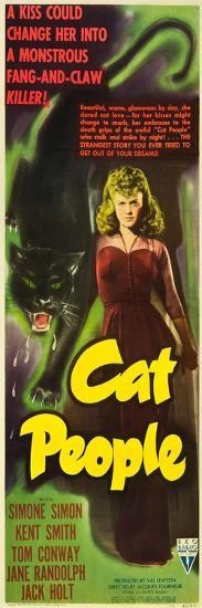 Cat People, Simone Simon, 1942--Art Print