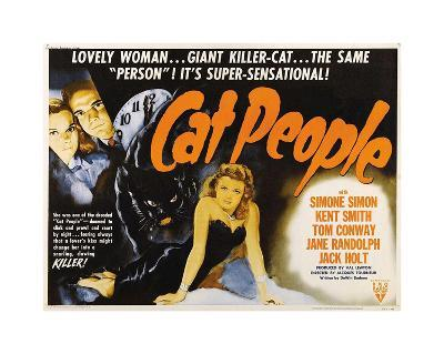 Cat People--Giclee Print