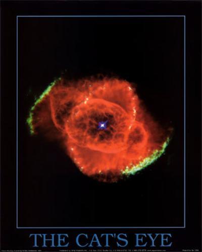 Cat's Eye Nebula Print--Art Print
