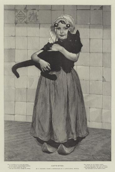 Cat's-Eyes--Giclee Print