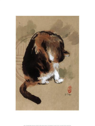 Cat's Feeling-Hu Chen-Art Print