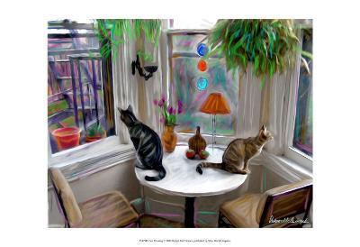 Cat's Messing-Robert Mcclintock-Art Print