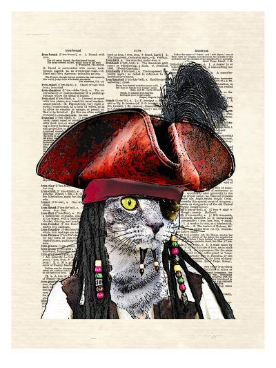 Cat Sparrow-Matt Dinniman-Art Print