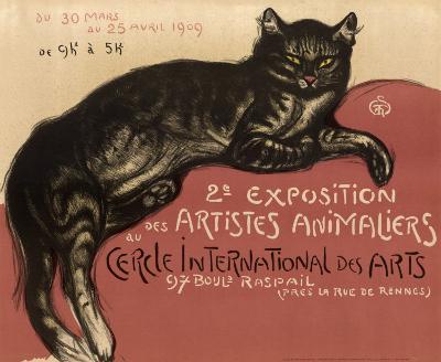 Cat-Th?ophile Alexandre Steinlen-Art Print