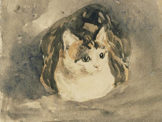 Cat-Gwen John-Giclee Print