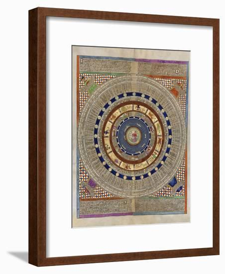 Catalan Atlas, 14th Century-Library of Congress-Framed Photographic Print