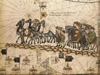 Catalan Atlas-Jafuda and Abraham Cresques-Art Print