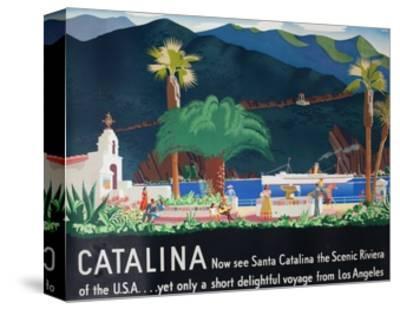 Catalina Island Travel Poster