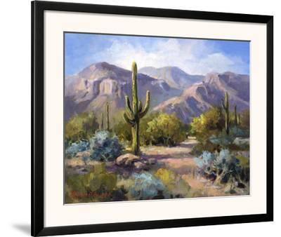 Catalina Mountain Foothills-Maxine Johnston-Framed Art Print