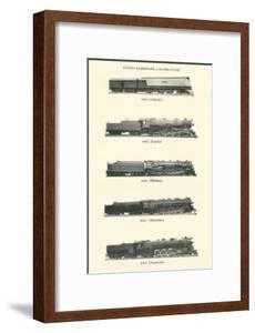 Catalog of Steam Passenger Trains