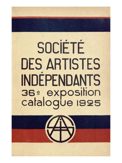 Catalogue for the 36th Salon Des Independants in Paris, 1925--Giclee Print