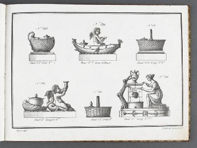 Catalogue of the Porcelain Factory Coussac Bonneval--Giclee Print
