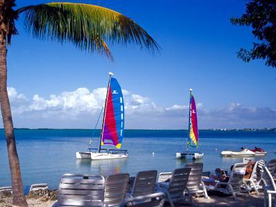 Catamarans, Florida Keys, Florida, USA-Terry Eggers-Photographic Print