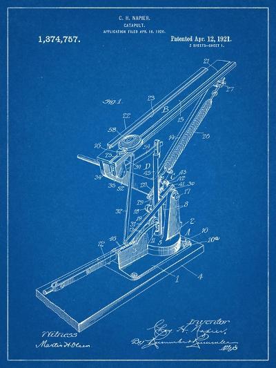 Catapult Patent 1921--Art Print