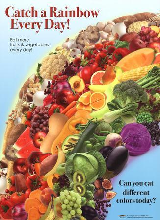 Catch a Rainbow - Fruits and Vegetables