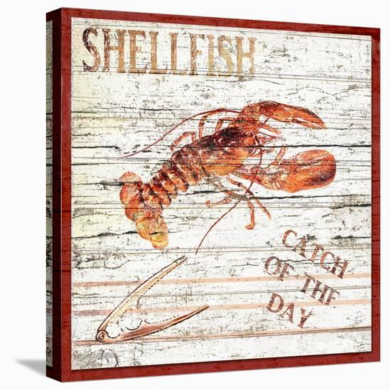Catch of the Day-Karen J^ Williams-Stretched Canvas Print