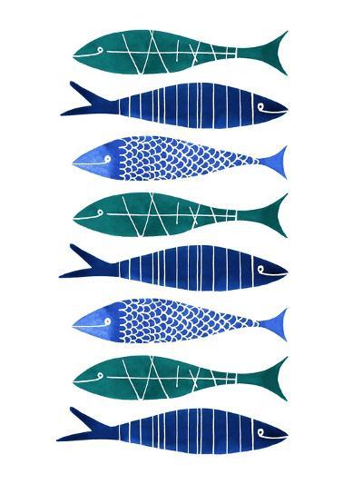 Catch of the Day-Margaret Berg-Art Print