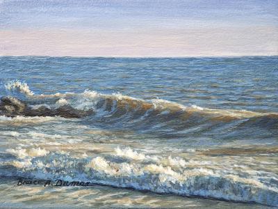 Catch the Wave-Bruce Dumas-Giclee Print