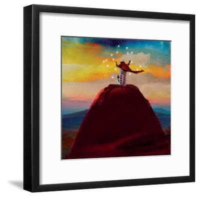 Catching Stars-Nancy Tillman-Framed Art Print