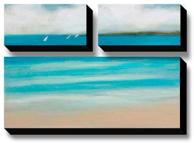 Catching the Breeze-Rita Vindedzis-Canvas Art Set